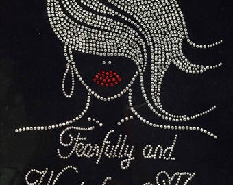 Fearfully Made Rhinestone Tee - only 3 left!