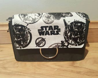 star wars - boba fett handbag - custom made