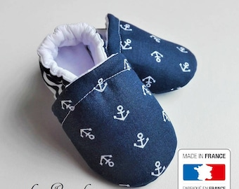 SALE! Little sailor baby booties
