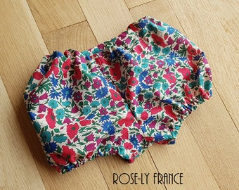 Liberty Poppy and daisy N baby bloomers