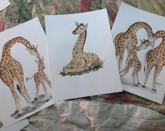 Second 3piece giraffe set