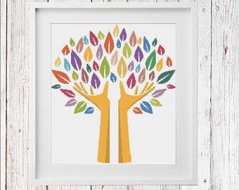 The Tree Of Life Cross Stitch PDF Pattern