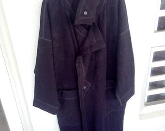 Vintage Issey Miyake Plantation Long Jacket  size M