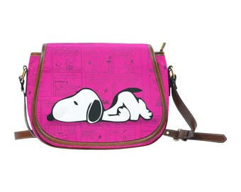 Snoopy  Women Saddle bag