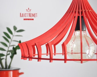 Laser Cut Lamp - Interior design