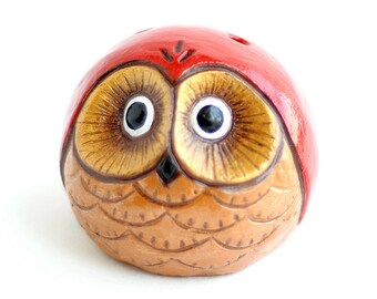 "Ocarina ""Owlet"" / ceramic flute/ pentatonic ocarina"