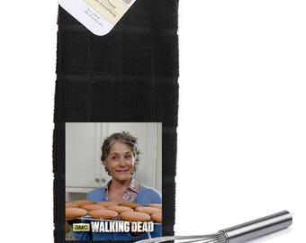 The Walking Dead Carols Cookies Kitchen Towel