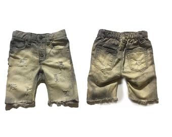 Trendy Kids Distressed shorts, grey