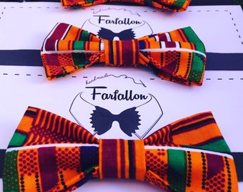African style papillon/bow tie