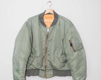 Vintage 1960's Airforce H.A.L. Bomber Jacket | Size Medium