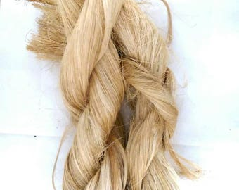 Raw Abaca Fiber Manila Hemp for Craft Supplies