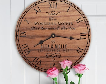 Personalized Mother in Law Gifts From Wedding Couple - Gifts for Mother in Law from Bride and Groom - Custom Message - Mom In Law Message