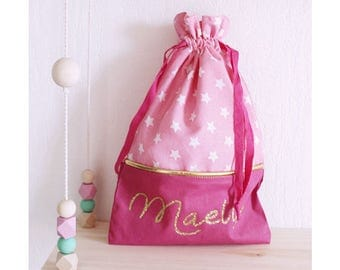 Customizable for baby or child's pouch bag