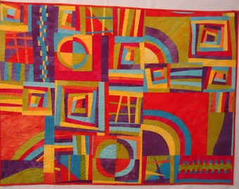 Improvisational Quilt