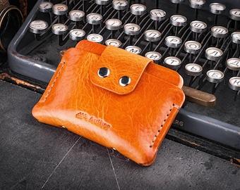 Gents wallet Leather wallet pocket wallet groomsmen gift male wallet brown wallet modern wallet slim wallet skinny wallet minimalist wallet