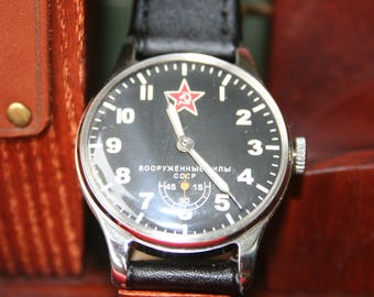 POBEDA watch, ARMY watch, soviet watch, ussr watch, mens watch, russian watch, wrist watch, retro watch