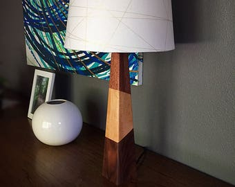 Modern Wood Table Lamp