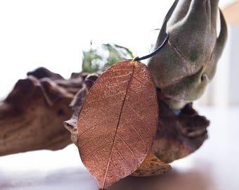Copper Leaf Pendant (16)