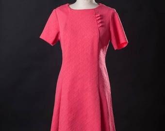 60s Dbl Knit Dress