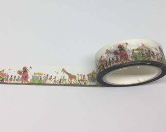 Animal Symphony Yi Man Washi Masking Tape