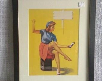 Pin-Up Girl Gil Elvgren Print 7x10 LGS-0110