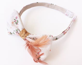 Headband - Boho style - Flower hair band