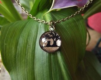 Zen meditation necklace