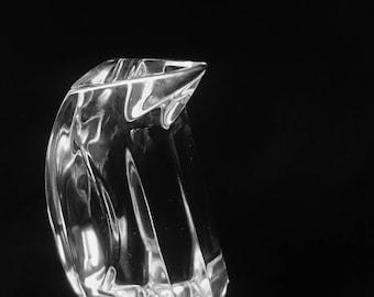 Val St Lambert Crystal Penguin Rare