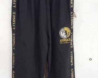 A.Versace Tracksuit Jogging Pant Black Colour Size 34
