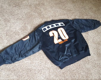 Vintage 1980s Chicago Bears Satin Jacket Size XL