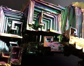 169 Gram Bismuth Crystal
