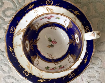 An Ealy 19th Century Hilditch & Sons Cup and Saucer