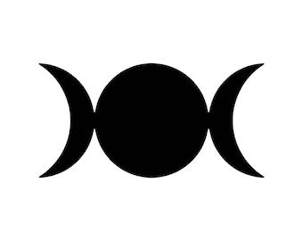 TRIPLE SUN Symbol - Vinyl Decal