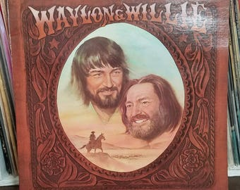 Waylon & Willie Waylon Jennings And Willie Nelson RCA Records 1-2686 Country LP