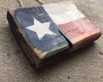 Reclaimed Wood mini Flag