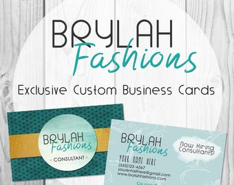 Brylah Fashions Exclusive Custom Business Cards