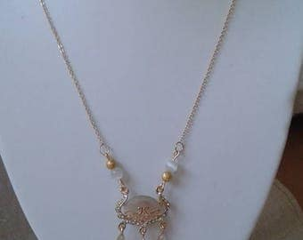 "necklace ""pendant style oriental cat's eye"""