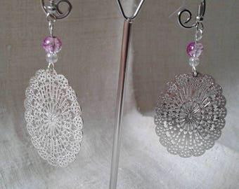 """""""beautiful Silver charm"""" earrings"""