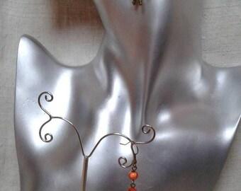"""""""two little cane"""" earrings"""