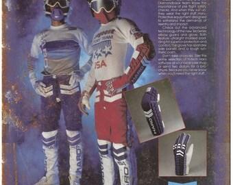 "10"" x 7"" Metal Sign HARO BMX Racing Gear Ad Vintage Look Reproduction"