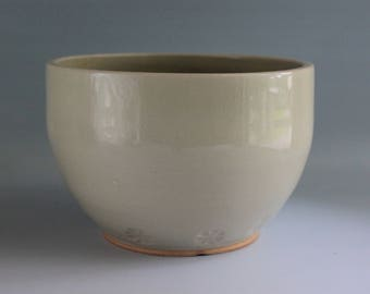 Flower Imprinted Bowl