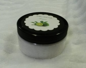Buhbee's Bath Salts scented with Bergamot! 8 ounces