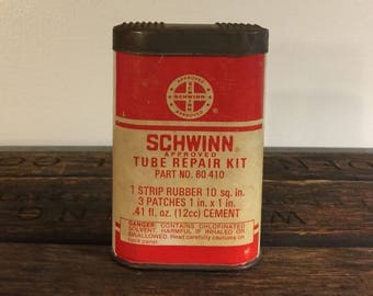 Vintage Schwinn Approved Tube Repair Kit Box