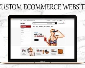 Custom Ecommerce Wordpress Website Design Service - Online Store