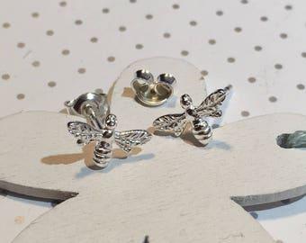 Bee Earring Earrings 925 Sterling Silver