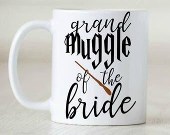 harry potter mug harry potter gift Harry Potter Wedding Gift Muggle Gift Muggle Mug slytherin gryffindor ravenclaw hufflepuff Bridal Party