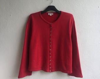 Vintage agnes b. Sweatshirt / actifwear / jumper / sweatshirt / sweater / agnes b