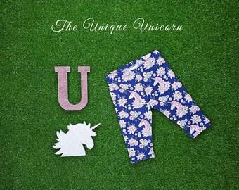 Unicorn Blossom Pedal Pushers