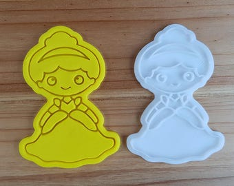 Cinderella  Cookie Cutter and Stamp