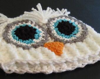 Owl Hat, Newborn Owl Hat, Owl Hat, Animal Hat, Photo Prop, Photography Prop Hat